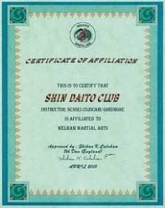 Cluburi arte martiale
