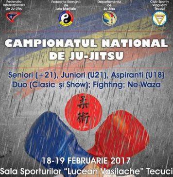 Campionatul National de Ju Jitsu Tecuci 2017