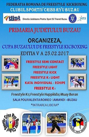 Cupa Buzaului la Freestyle KickBoxing