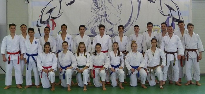 Lotul national de ju jitsu - atena 2017