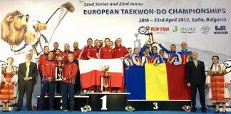 Romania locul 3 la Campionatul European Taekwon-do ITF