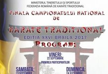 Campionatului National de Karate Traditional