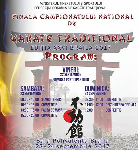 Campionatului National de Karate Traditional