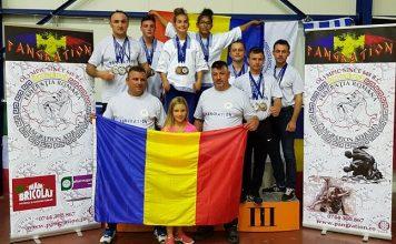 Echipa Romaniei la Campioantul European de Pangration 2017