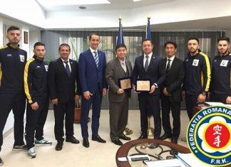 FR Karate si Ambasada Japoniei - Sport For Tomorrow