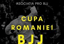 Cupa României la BJJ 2018
