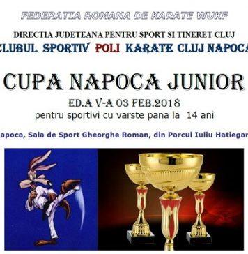 Cupa Napoca Junior - Karate WUKF