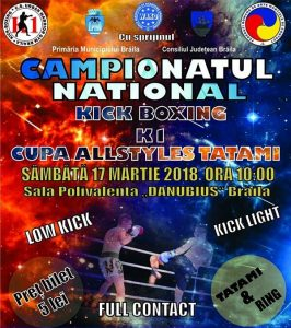 Cupa All Styles Tatami - Kickboxing, K1
