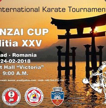 Cupa Banzai - Karate WUKF
