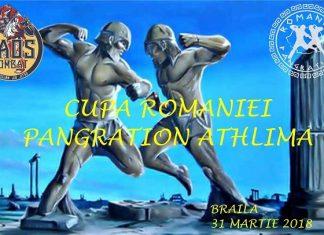 Cupa Romaniei la Pangration Athlima - Braila 2018