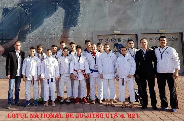 Lotul Național de Ju-Jitsu U18 & U21 - Abu Dhabi 2018