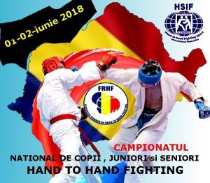 Campionatul National de Hand to Hand Fighting 2018