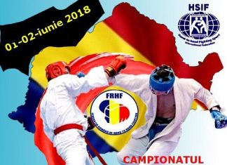 Campionatul National de Hand to Hand Fighting 2018