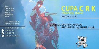 Cupa CRK – Trofeul Dacic - Kendo 2018