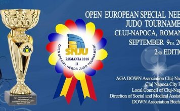 Open Special Needs Judo Tournament 2018 - Cluj Napoca