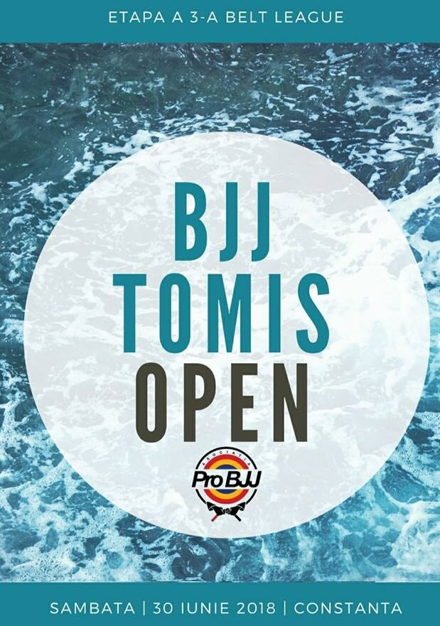 Tomis Open BJJ Belt League 2018