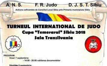 Cupa de Judo - Temerarul - Sibiu 2018