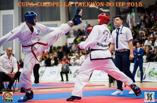 Cupa Europei la Taekwon-do ITF 2018