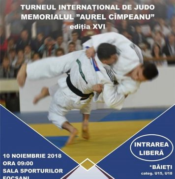 Turneul International de Judo - Memorialul Aurel Cimpeanu 2018