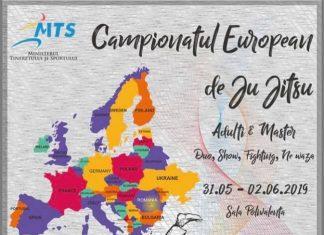 Campionatul European de Ju Jitsu Adulti si Masters 2019