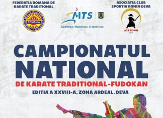 Campionatul National de Karate Traditional Fudokan - Zona Ardeal 2019