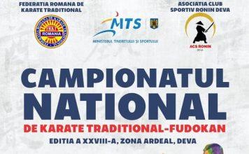 Campionatul National de Karate Traditional Fudokan - Zona Ardeal 2019