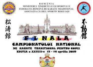 Finala Campionatului National de Karate traditional pentru Copii 2019
