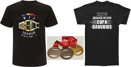 Medalii si Tricouri personalizate Cupa Danubius 2019