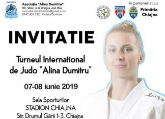 Turneul International de Judo - Alina Dumitru 2019