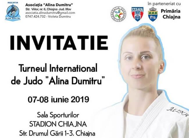 Turneul International de Judo - Alina Dumitru 2019