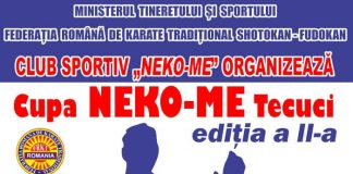 Cupa Neko Me Tecuci - Karate Traditional 2019