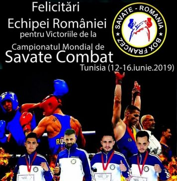 Campionatul Mondial de Savate Combat iunie 2019 - Tunisia