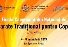 Campionatul National de Karate Tradtiional pentru Copii 2019
